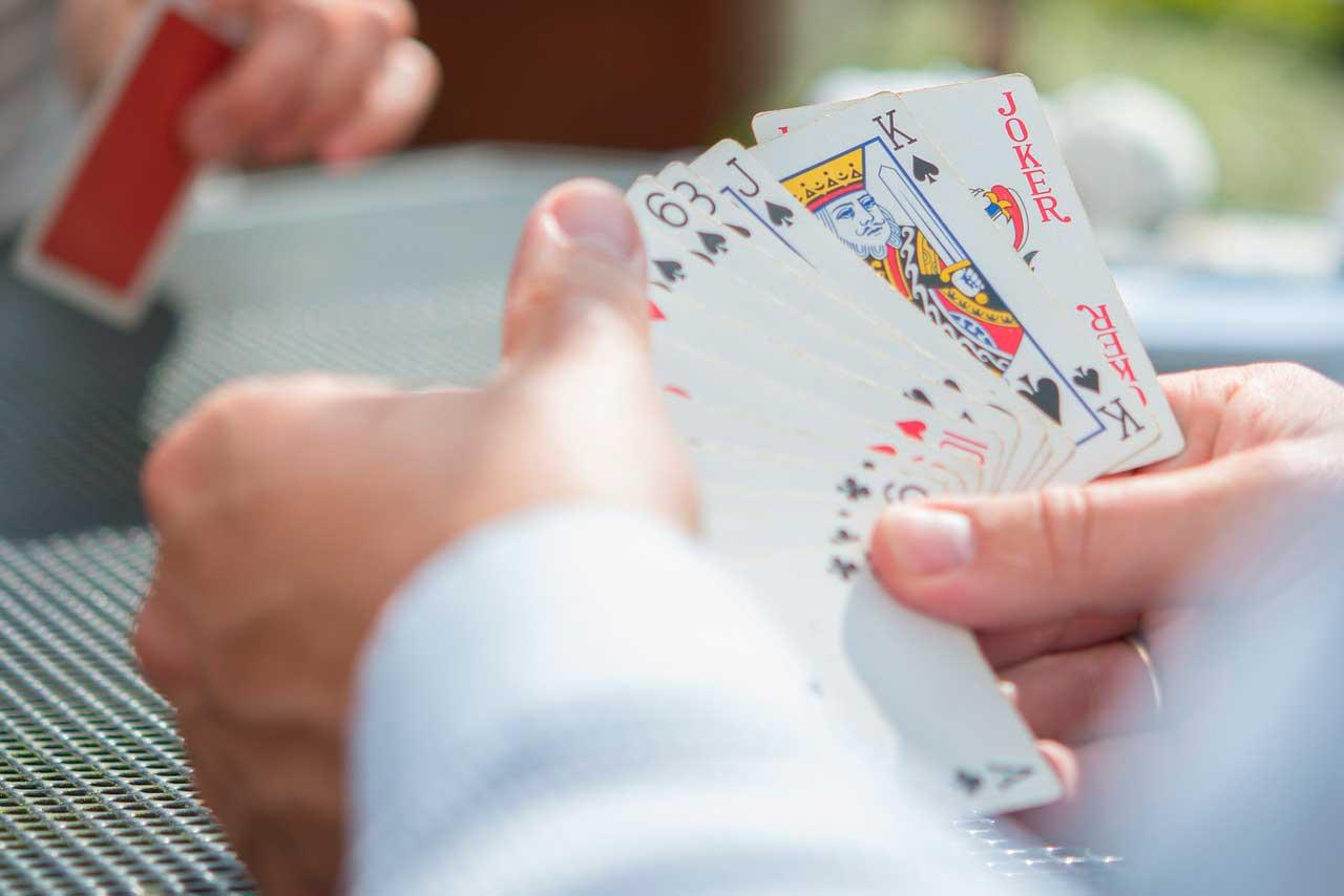 ludomani kortspil